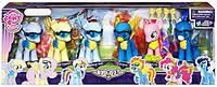 My Little Pony Эксклюзивный Набор Команда Вондерболты (My little pony exclusive Wonderbolts 6 figure set)