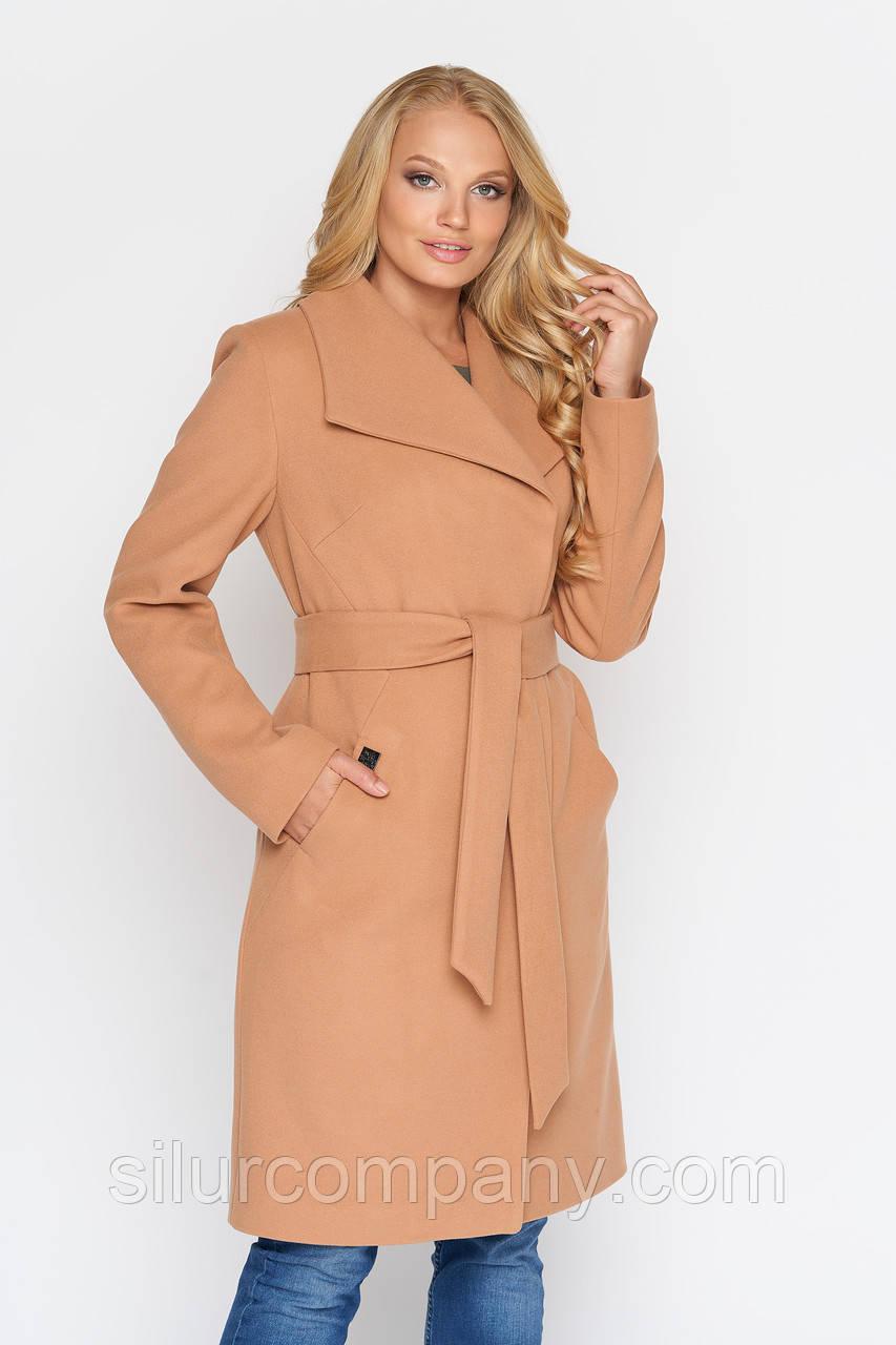 fd27655cf8fc Женское пальто на осень из кашемира   Оригинальное женское пальто  кашемировое - Интернет магазин