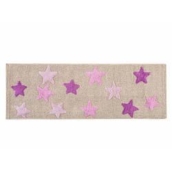 Коврик Irya - Star lila лиловый 50*150 см