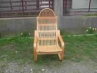 Плетеное кресло-качалка 084