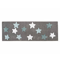 Коврик Irya - Star gri серый 50*150 см