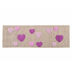 Коврик Irya - Feel lila лиловый 50*150 см