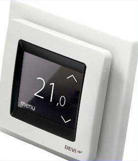 Терморегулятор DEVIreg Touch білий (деві тач)