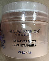 Сахарная паста для шугаринга, Global Fashion, средняя, 200гр SG-802