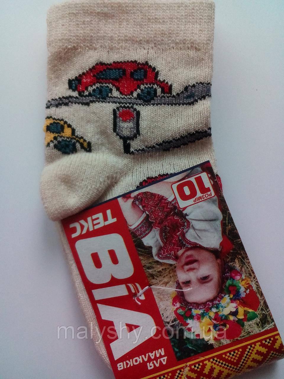Детские носки демисезонные - ВиАтекс р.10 (шкарпетки дитячі, ВіАтекс)