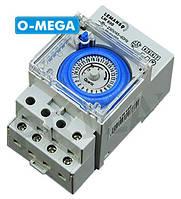 Таймер Lemanso LM690 электронно-механический, суточный на DIN-рейку (кварцевое реле), фото 1