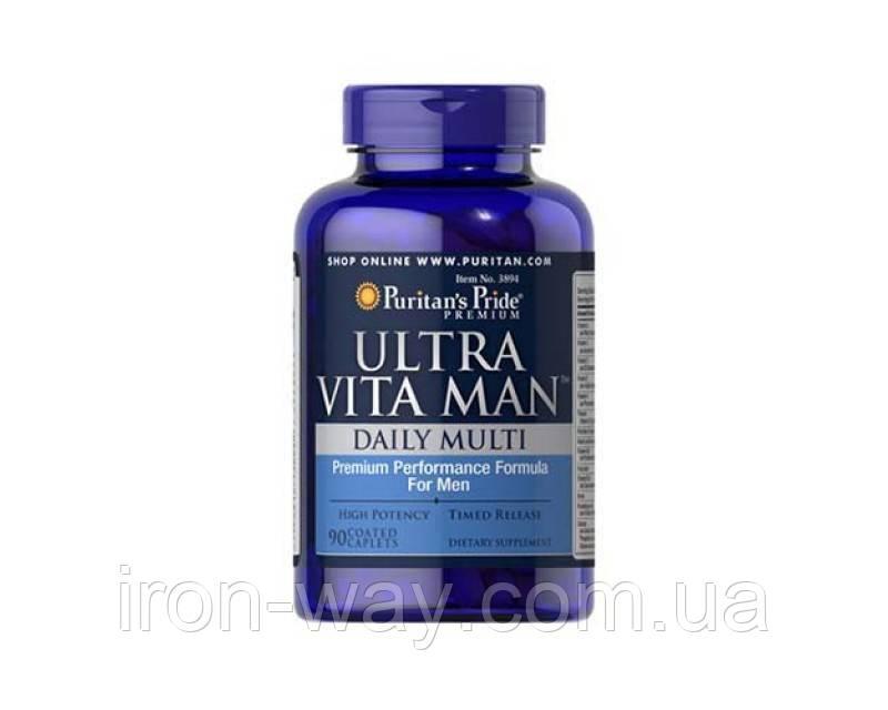 Puritan's Pride Ultra Vita Man 90 tab