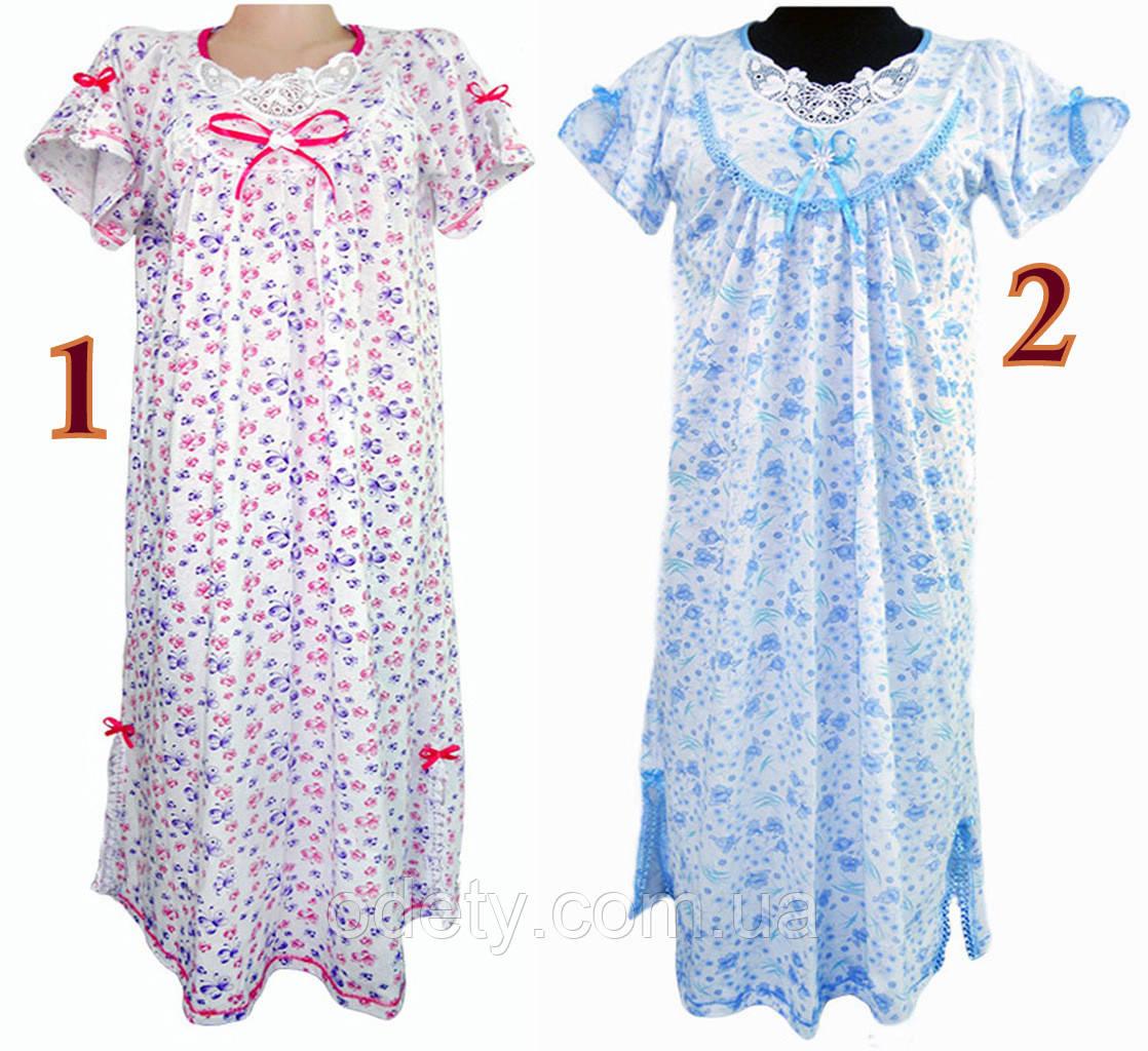 0cc1a8577c7a9d1 Женская ночная рубашка с аппликацией. Ночная сорочка женская больших  размеров