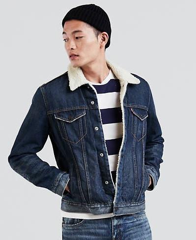 Куртка Levi's Sherpa Trucker Jacket LUCKY TOWN