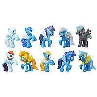 My Little Pony Эксклюзивный Набор Вондерболтс - Чудо-Молнии( My Little Wonderbolts Cloudsdale Mini Collection)