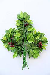 Искусственные растения - листья вишни, 66 см