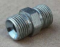 Штуцер соединительный S=24/24 (M20x1,5 - M20x1,5)