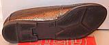 Балетки женские кожаные графит от производителя модель РУ212-3-2, фото 6