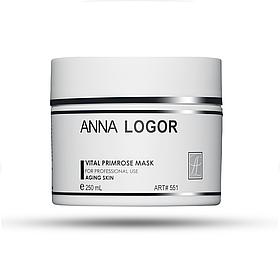 Маска питательная с экстрактом примулы Anna LOGOR Vital  Primrose Mask 250 ml Art.551