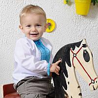 Вышиванка для мальчика (ручная робота, 1-2 год), фото 1