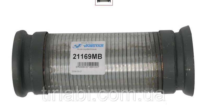 Гофра глушителя в фланцем Мерседес, Neoplan, MB Fi100x300 (6214900065)