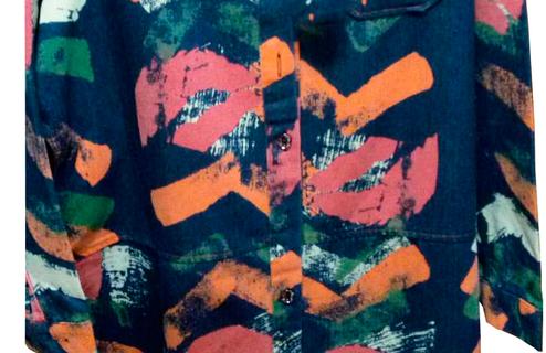 Джинсовый пиджак-рубашка , фото 2