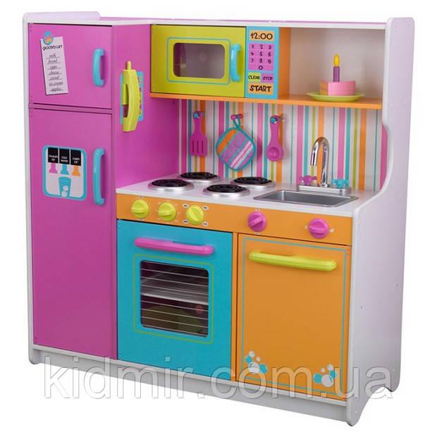 Кухня дитяча Велика кухня Веселка KidKraft 53100
