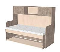 Кровать-стол 900*1900/2000 (трансформер) с антресолью.