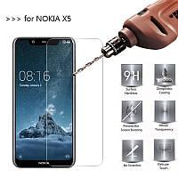 Защитное стекло Glass для Nokia 5.1 Plus (X5)