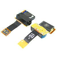 Динамик спикер для SAMSUNG S8530 спикер с разьемом наушников на шлейфе оригинал (ID:4480)