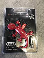 "Ароматизатор Audi красный ""геккон"". Оригинал Гекон 000087009B"