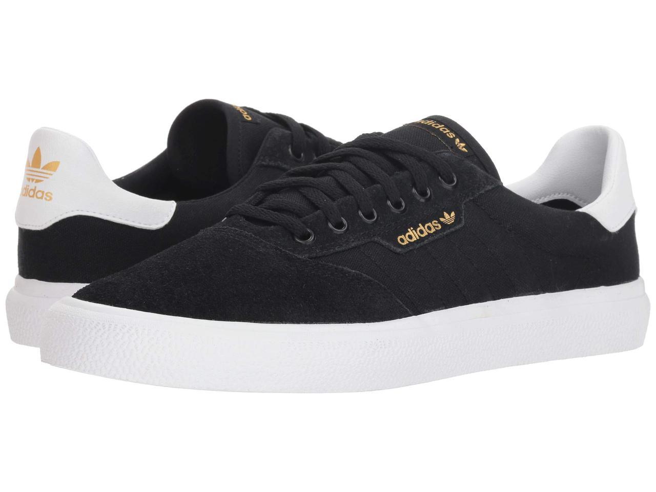 0a8424b3 Кроссовки/Кеды (Оригинал) adidas Skateboarding 3MC Black/White/Black Suede -