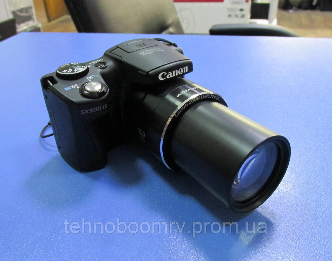 Canon PowerShot SX500 IS - 16MP - ЗУМ: Оптич. 30Х; Цифр. 4Х