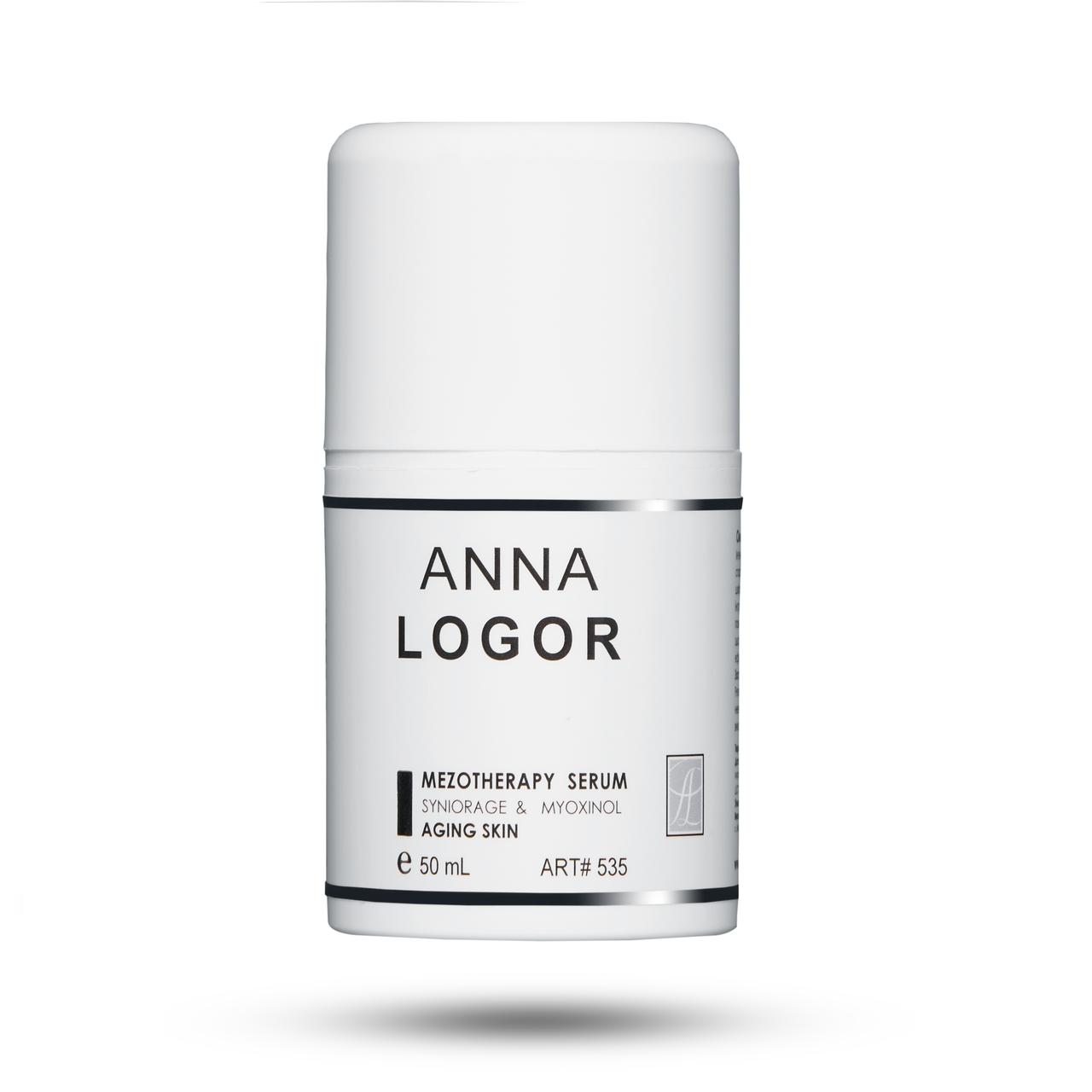 Сыворотка омолаживающая с пептидами Anna LOGOR Mezotherapy Serum 50 ml Art. 535