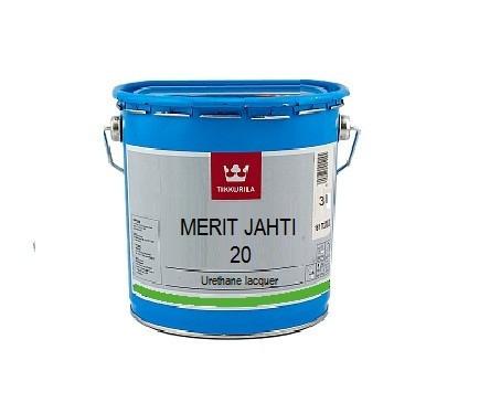 Лак яхтний Tikkurila Меріт Яхті Merit Jahti 20 3л напівматовий