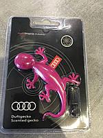 """Ароматизатор Audi розовый """"геккон"""". Оригинал Гекон 000087009AC, фото 1"""