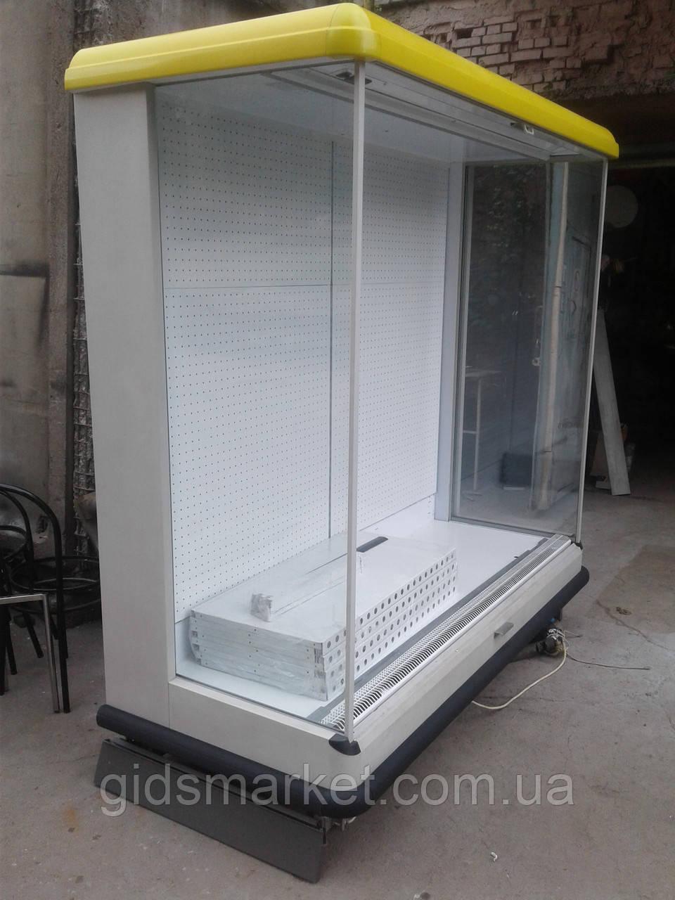 Холодильная горка под выносной агрегат Pastorfrigor б/у, холодильный регал под выносной холод б у