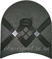 Набойка Vibram   5344 TARTAN TACCO р 40, толщ. 7 мм, цв. черный, фото 2