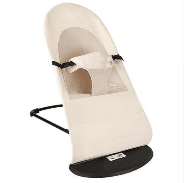 Детское Кресло-шезлонг SUNROZ Baby Balance Chair кресло-качалка Кремовый (SUN1328)