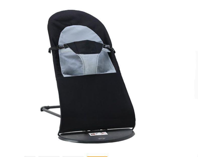 Детское Кресло-шезлонг SUNROZ Baby Balance Chair кресло-качалка Черный (SUN1329)