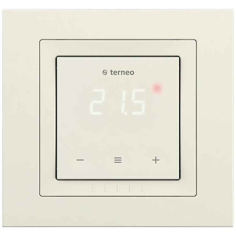 Терморегулятор terneo s unic, цвет - слоновая кость