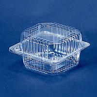 Пластиковый контейнер, блистер ПС-8, 110*105*58