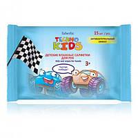 2349 Faberlic. Детские влажные салфетки для рук серии Techno Kids, 15 шт. Фаберлик 2349
