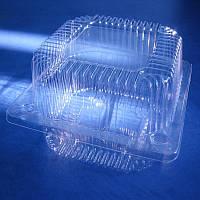 Пластиковый контейнер, блистер ПС-7, 118*118*68