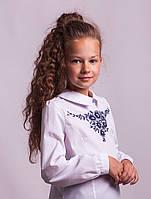 Блузка школьная с вышивкой м.1050