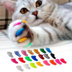 Когти накладные для котов с люминисцентными кристаллами