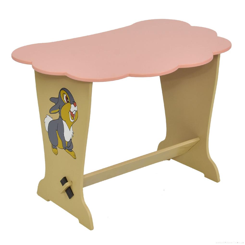 Столик Мася 6131 ЗАЙЧИК Розовый 67057