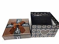 """Коробочка подарочная для часов """"Style"""" коричневая"""