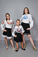 Детская вышиванка для девочек