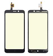 Оригинальный тачскрин / сенсор (сенсорное стекло) для Doogee X50 | X50L (черный цвет)