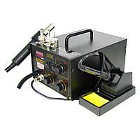 Паяльная станция AIDA 852D+ компрессорная, фен, паяльник (ID:3037)