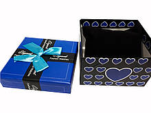 "Коробочка подарочная для часов ""Style"" синяя"