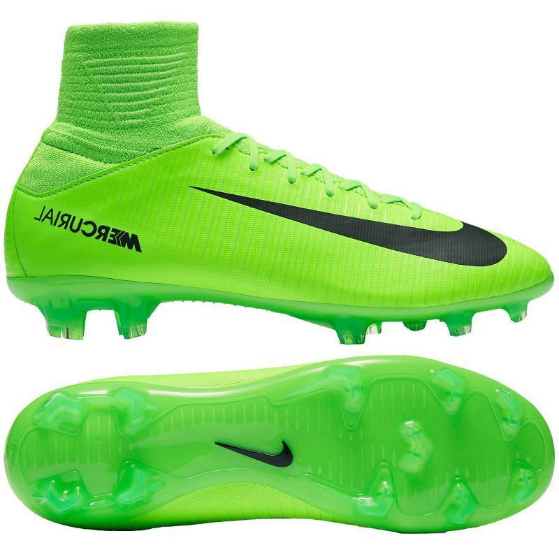 Бутсы детские Nike JR MERCURIAL SUPERFLY V FG 831943-303