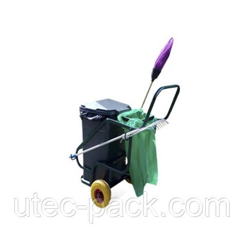 Тележка для сбора пищевых отходов и мусораKolvi ТКБ-250-90 (ТКБ25090)