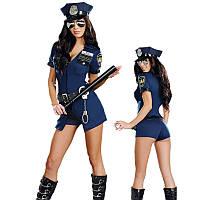 """Костюм """"Девушка коп"""" ролевой костюм, костюм полицейской,113"""